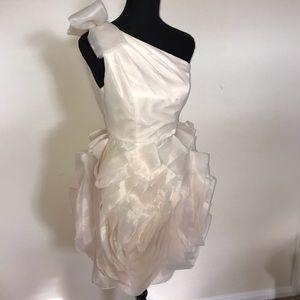 Vera Wang white label dress